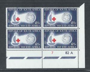 SOUTH AFRICA SC# 286 CONTROL B/4 FVF/MNH 1963