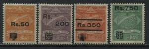 Brazil 1930 Condor Syndicate Airmail set with new values mint o.g. hinged