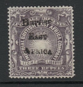 British East Africa, Sc 50 (SG 45), MHR
