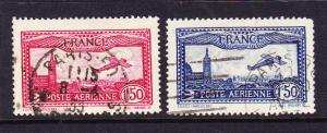 FRANCE 1930 AIR  SET 2 FU  SG 483/84