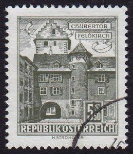 Austria - 1960 - Scott #628 - used - Feldkirch