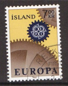 Iceland   #389   cancelled  1967   Europa  7k