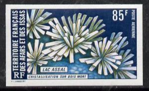 French Afars & Issas 1974 Lake Assal (85f Crystalizat...