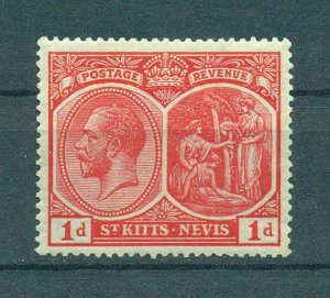 St. Kitts & Nevis sc# 25 (2) mnh cat value $5.00