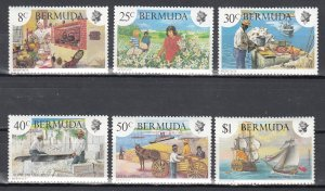 Bermuda, Sc 406-411, MNH, 1981, Various Scenes