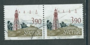 Sweden 1722  Used Pair (6