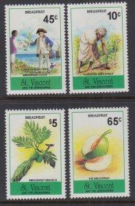 St Vincent 1997-2000 Breadfruit MNH VF