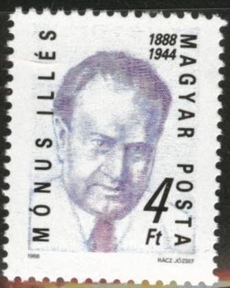 HUNGARY Scott 3118 MNH** 1988 Monus stamp