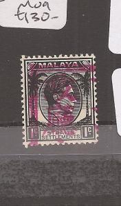 Malaya Jap Oc Malacca UL chop 1c SG J45 MOG (11axm)