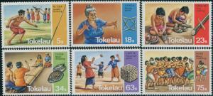 Tokelau 1983 SG97-102 Pastimes set MNH