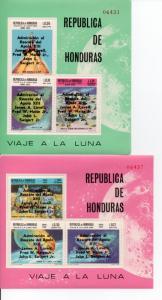 Honduras C454-C459 MNH footnote ..