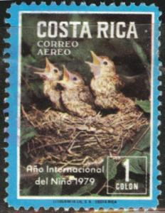 Costa Rica Scott C747 used 1978 Airmail similar cancels