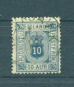 Iceland sc# O6 used cat value $16.00