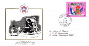 Salvador, Americana, Worldwide First Day Cover, Space