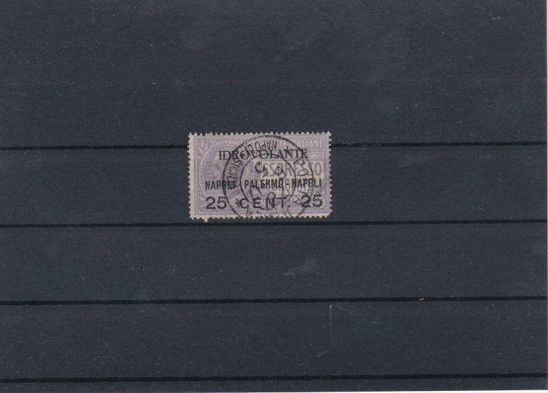 Italy 1917 25Cent Special Overprint Stamp CAT£55 Ref: R7473