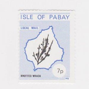 PABAY, British Local - 1978 - Seaweeds  - Perf MNH 3v Set