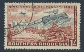 Southern Rhodesia  SG 75  SC# 78  Used  Cecil Rhodes 1953  see scans