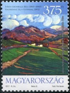 Hungary. 2017. Béla Iványi Grünwald was born 150 Years ago (MNH OG) Stamp