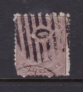 New Zealand a 1st sideface QV 3d used