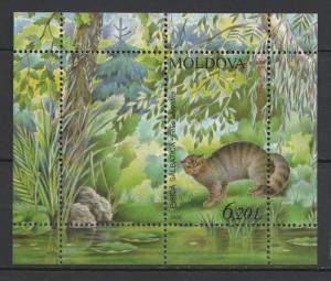 Moldova 2006 Fauna Animals Wild Cat MNH Block