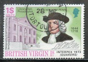 British Virgin Islands # 253 Used. CV $ 1.10
