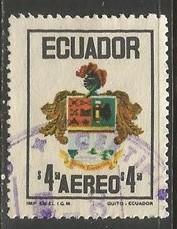 ECUADOR C514 VFU  ARMS Z1703-2