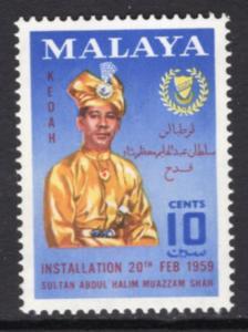 Malaya Kedah 94 MNH VF
