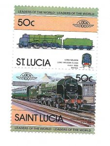 ST Lucia 1983 - MNH - Scott #619 *