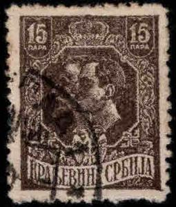 Serbia  Scott 159 Used