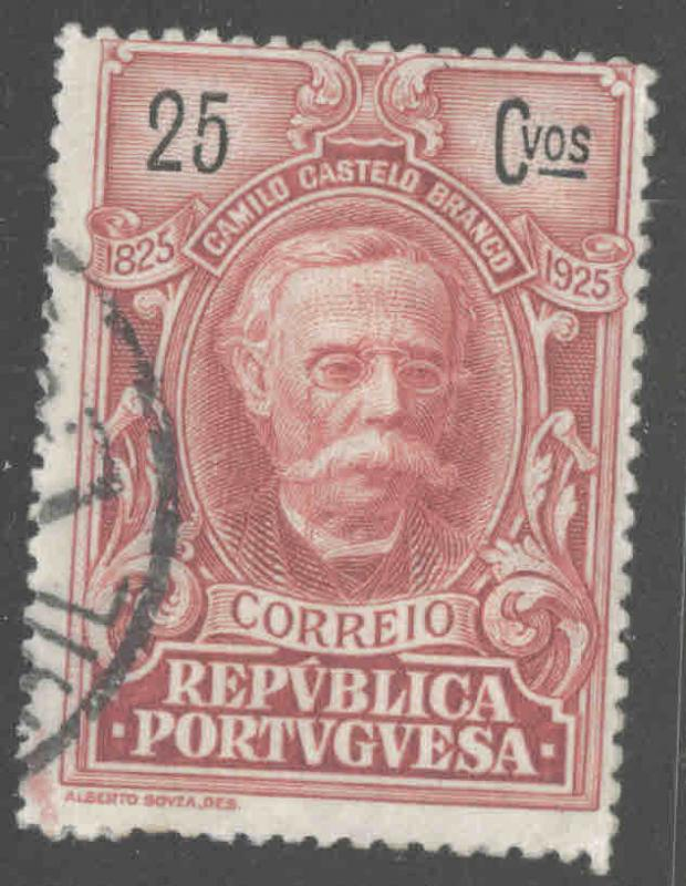 Portugal  Scott 356 Used from 1925 Branco set