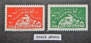 Turkey 1436-37. 1959 NATO, NH