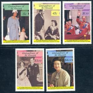 St. Vincent - Grenadines 568-572 mint never hinged