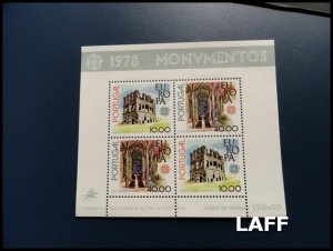 Portugal - Cept-Europa - Mini Sheet MNH