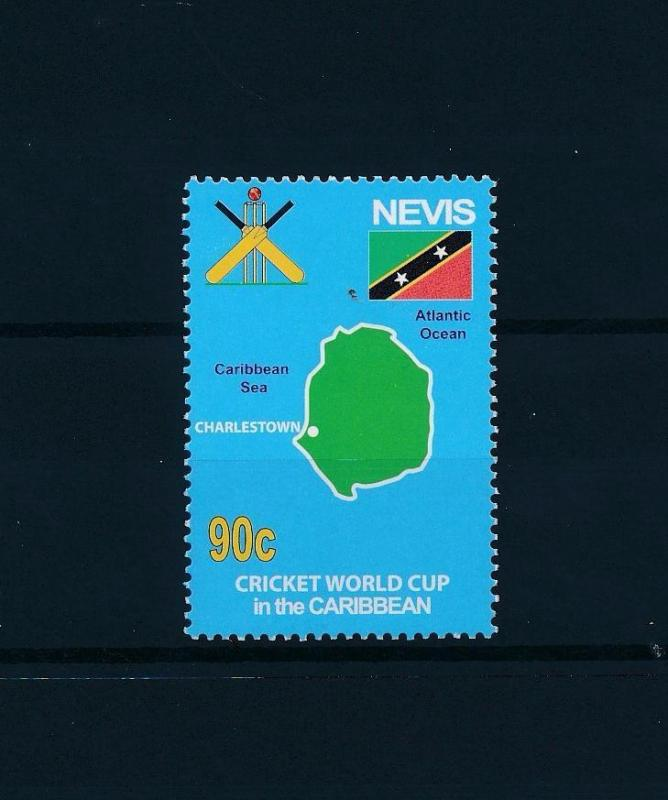 [58128] Nevis 2007 Cricket World Cup from set MNH