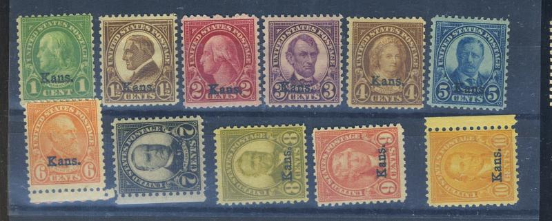 658-68 MINT F-VF OG NH 662  LH Cat$414