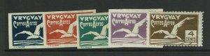 Uruguay SC# C10 - C13 & C26 Mint / Hinge Rems / C12 Gum Thin C13 No Gum - S11960