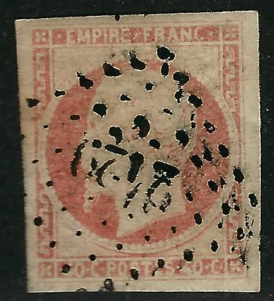 France #18 Used VF imperf...Chance to bid on a real Bargain!