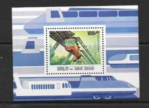 G.BISSAU SGMS911 1984 TRANSPORT  MNH
