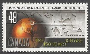Canada Mint VF-NH #1962 Toronto Stock Exchange