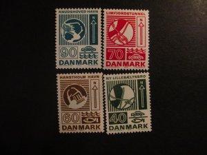 Denmark #509-12 Mint Never Hinged- (5E4) WDWPhilatelic