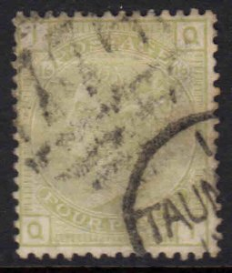 GREAT BRITAIN SC 70 PLATE #16 CDS F/VF SOUND $325 SCV