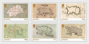 Jersey 2021 MNH Stamps SEPAC Historical Old Maps