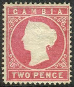 f31f2be842b20d Gambia 1922 5s Green-Yellow SG121 Fine Mtd Mint   HipStamp