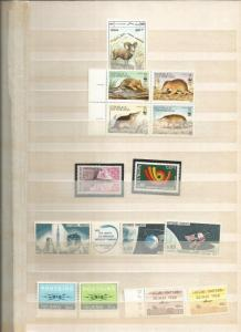 WORLDWIDE COLLECTION 5 SETS  MNH