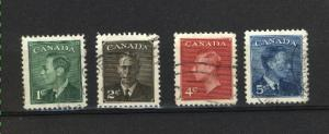 C  #289,290,292,293  used  1950 PD