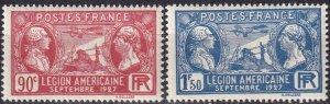 France  #243-4 MNH  CV $10.00 (Z2442)