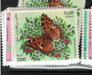 Algeria Butterfly 1991 SC 945-8 MNH (10efw)