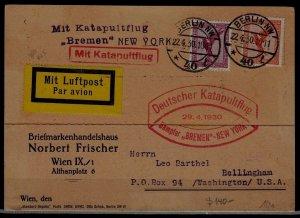 Germany Catapult card 22.4.30 Berlin