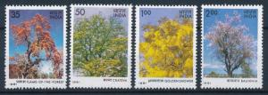 [61888] India 1981 Flora, Trees with Flowers, Blumen  MNH