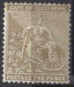 Cape of Good Hope 1882-1883 SC 35 MLH SCV $140.00